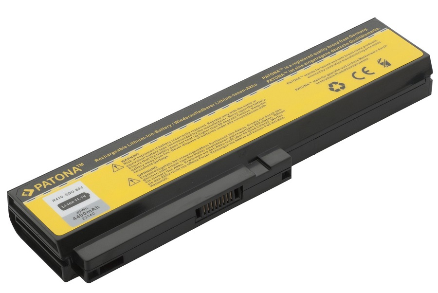Baterie PATONA pro Fujitsu-Siemens 4400 mAh Baterie, 4400 mAh, pro notebooky Fujitsu-Siemens, Gigabyte, LG, Philips, Qaunta, neoriginální PT2214