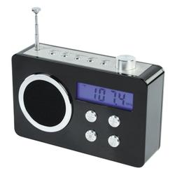 FM rádiopřijímač/budík basicXL - černý  BXL-TR250BL