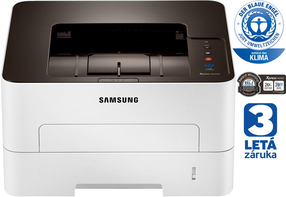 Laserová tiskárna SAMSUNG SL-M2825ND Černobílá laserová tiskárna, A4, 1200 x 1200, 128 MB, Duplex, USB, Síť SL-M2825ND/SEE