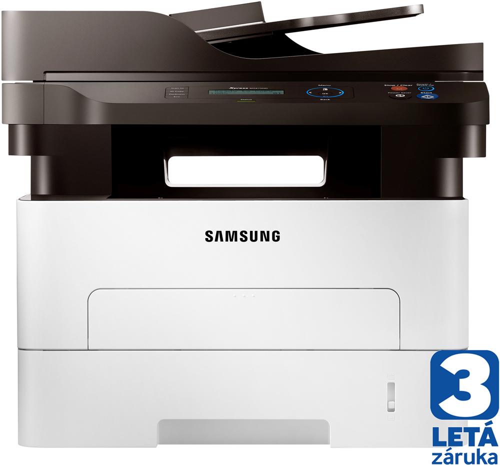 Multifunkční tiskárna SAMSUNG SL-M2875ND Černobílá multifunkční laserová tiskárna, A4, 28ppm, 4800 x 600 dpi, 600MHz, 128MB, PCL, USB, LAN, LCD SL-M2875ND/SEE