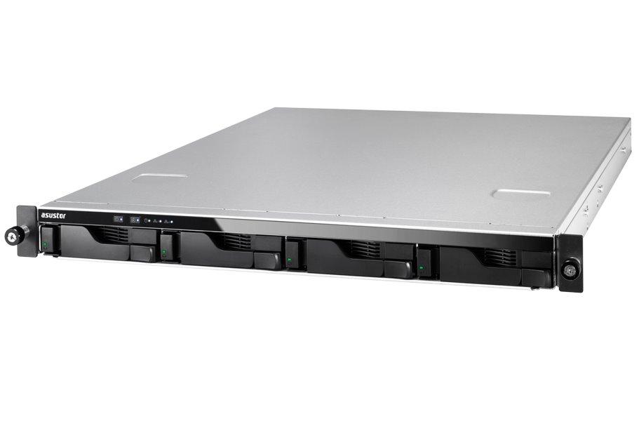 Síťové úložiště NAS Asustor AS-604RS Síťové úložiště NAS, 4-bay NAS server, media station, Dual Core Atom 2,13GHz, 1GB DDR3, 2xUSB 3.0, 4xUSB 2.0, HDMI, rack AS604RS
