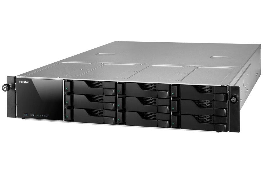 Síťové úložiště NAS Asustor AS-609RS Síťové úložiště NAS, 9-bay NAS server, media station, Dual Core Atom 2,13GHz, 1GB DDR3, 2xUSB 3.0, 4xUSB 2.0, HDMI, rack AS609RS