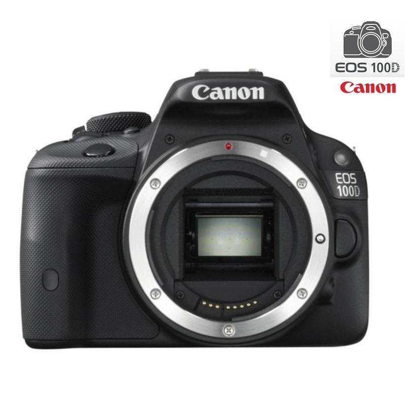 Digitální zrcadlovka Canon EOS 100D tělo Digitální zrcadlovka, 18MPix, 3 Touch LCD, FULL HD video, HDMI, Pouze tělo 8576B019AA