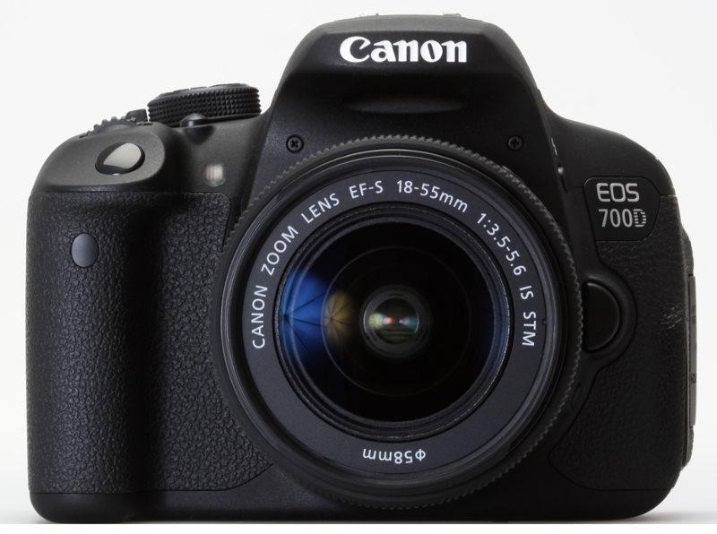 Digitální zrcadlovka Canon EOS 700D + IS STM Digitální zrcadlovka, 18MPix, 3 Touch LCD, FULL HD video, HDMI 8596B032AA
