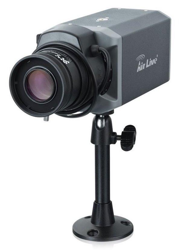 IP kamera AirLive BC-5010 IP kamera, vnitřní, C/CS zá., POE, 5 MPix 2592 x 1920, 4 mm objektiv, IR-CUT, SD slot, WiFi s X.USB BC-5010-4mm