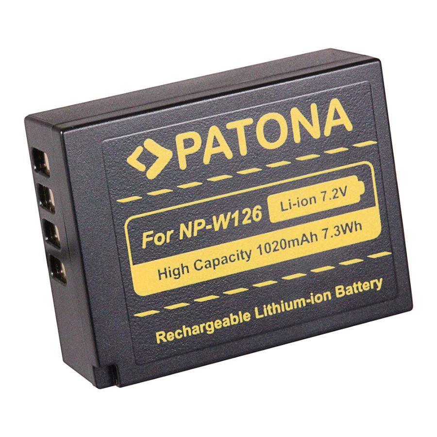 Baterie PATONA kompatibilní s Fuji NP-W126 Baterie, pro fotoaparát, 1100mAh, Li-Ion PT1111