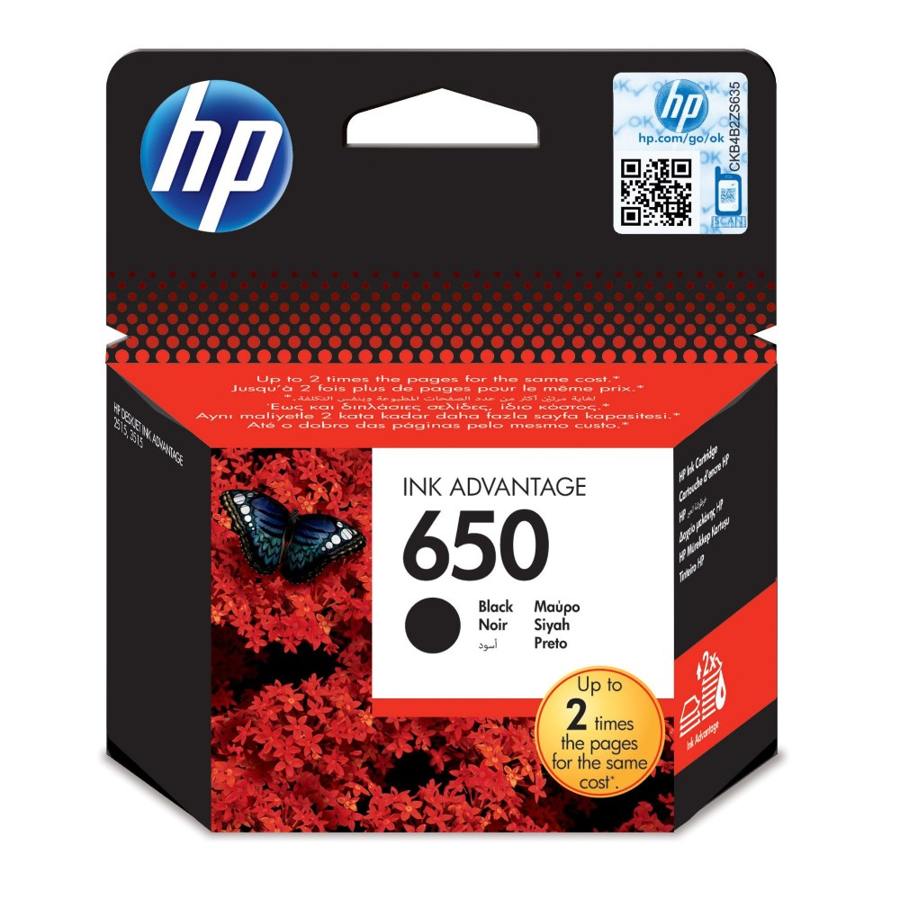 Cartridge inkoustová náplň HP černá CZ101AE CZ101AE