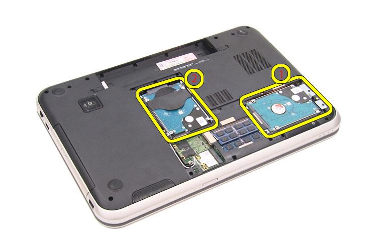 Rámeček pro sekundární HDD DELL Rámeček pro sekundární HDD, pro Inspiron SE 7720 80DF5