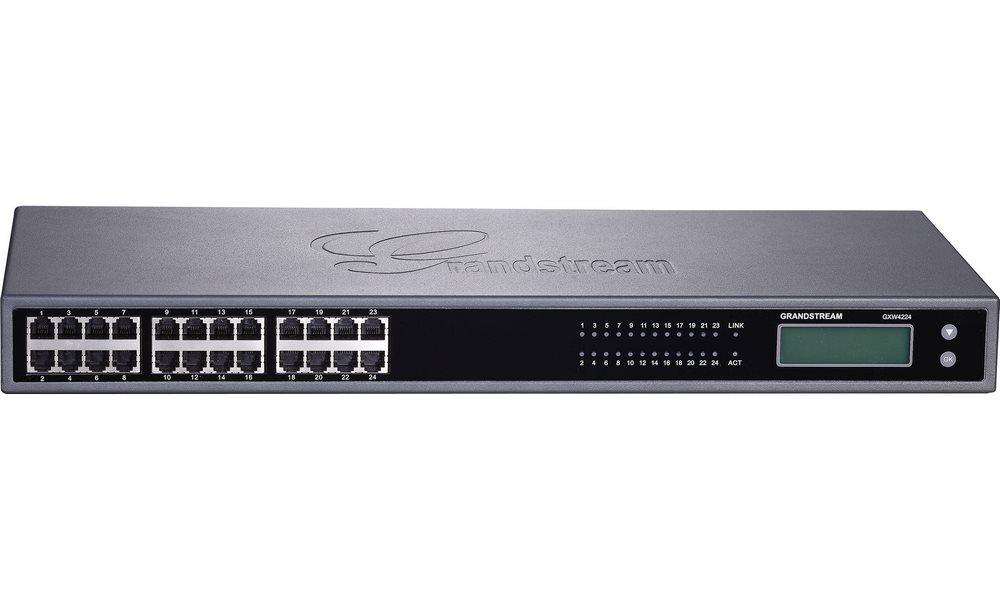 VoIP brána Grandstream GXW-4224FXS VoIP brána, analogová, 24 x FXS, 1 x 50-pin telco,1 x LAN GXW4224