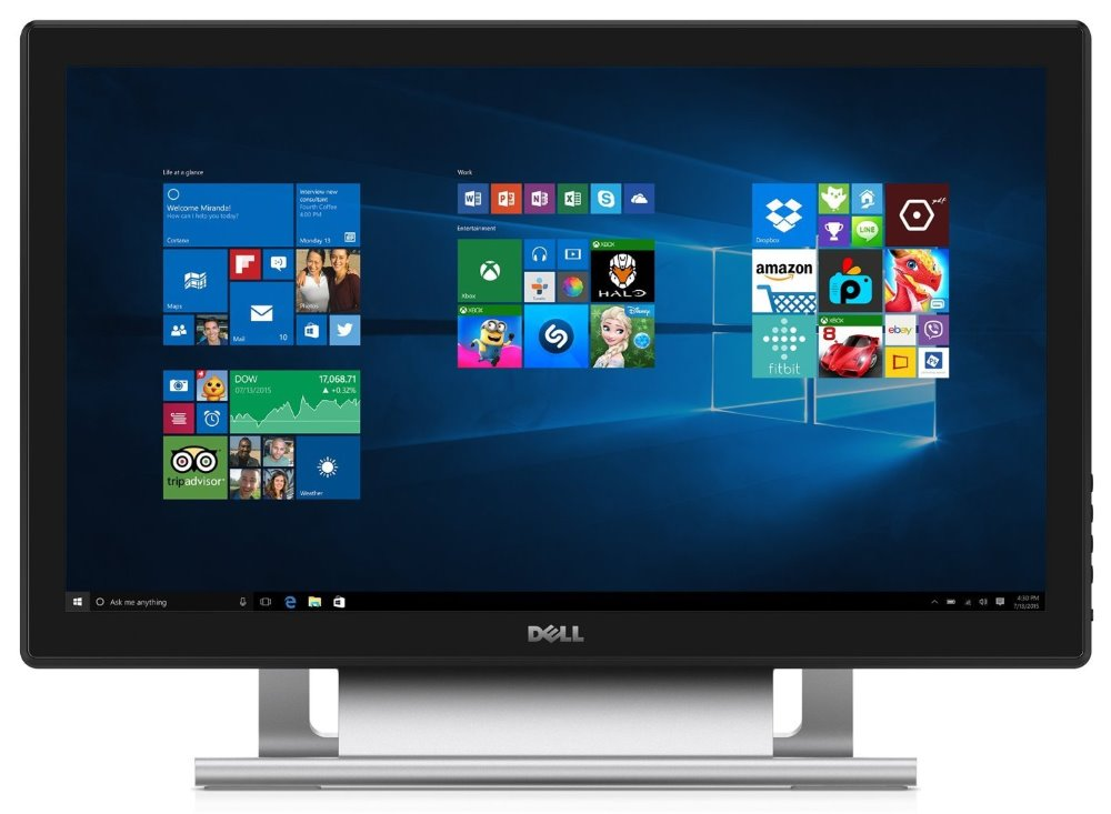 LED monitor DELL S2240T 22 LED monitor, dotykový, 16:9, rozlišení 1920x1080, Full HD, 3000:1, 12ms, VA, DVI, HDMI, USB, černý, 3YNBD on-site 210-AGHX