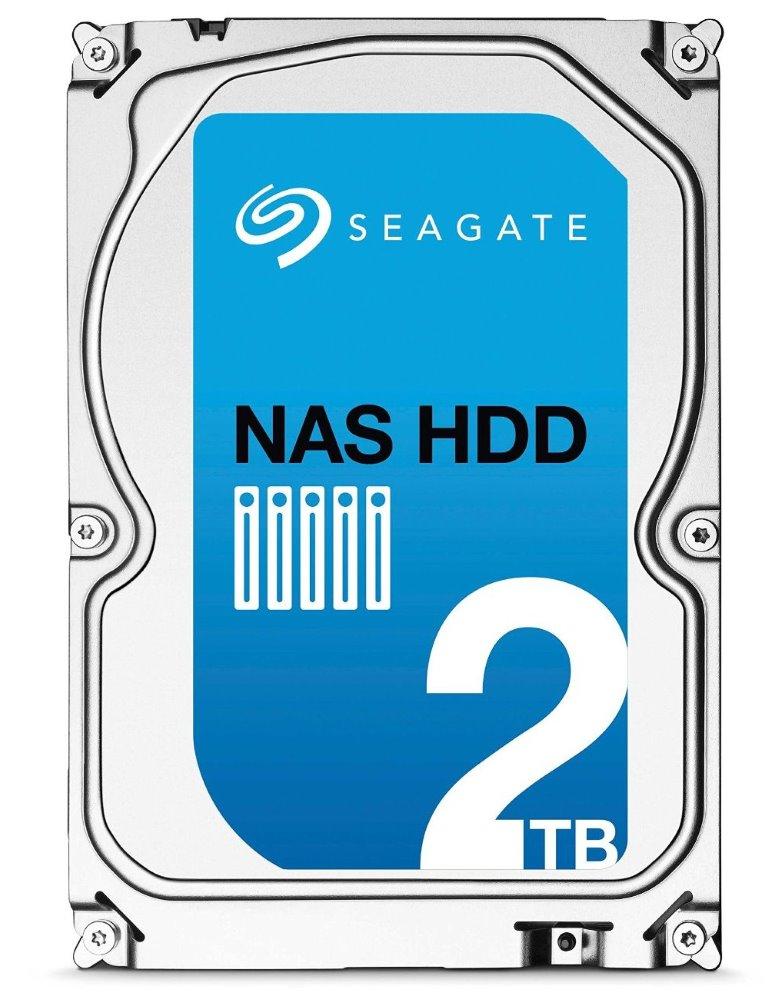 Pevný disk Seagate NAS HDD 2 TB Pevný disk, 2 TB, SATA600, interní, 3,5, 5900 RPM, 64 MB ST2000VN000