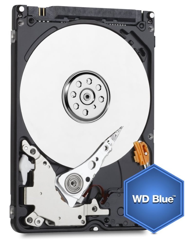 "Pevný disk WD Scorpio Blue 750GB Pevný disk, interní, 750GB, SATA III, 2,5"", 5400 rpm, 8 MB"