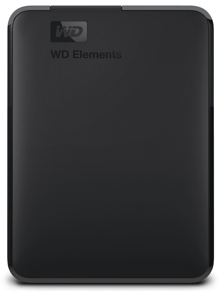 Pevný disk WD Elements Portable 2 TB Pevný disk, externí, 2,5, USB 3.0, černý WDBU6Y0020BBK-EESN