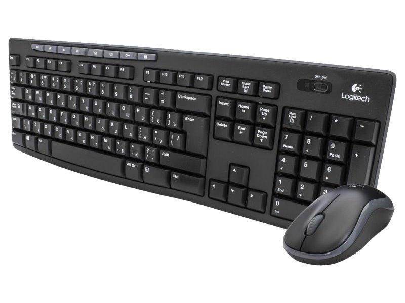 Set klávesnice a myši Logitech Wireless MK270 Set klávesnice a myši, bezdrátový, USB, CZ 920-004527