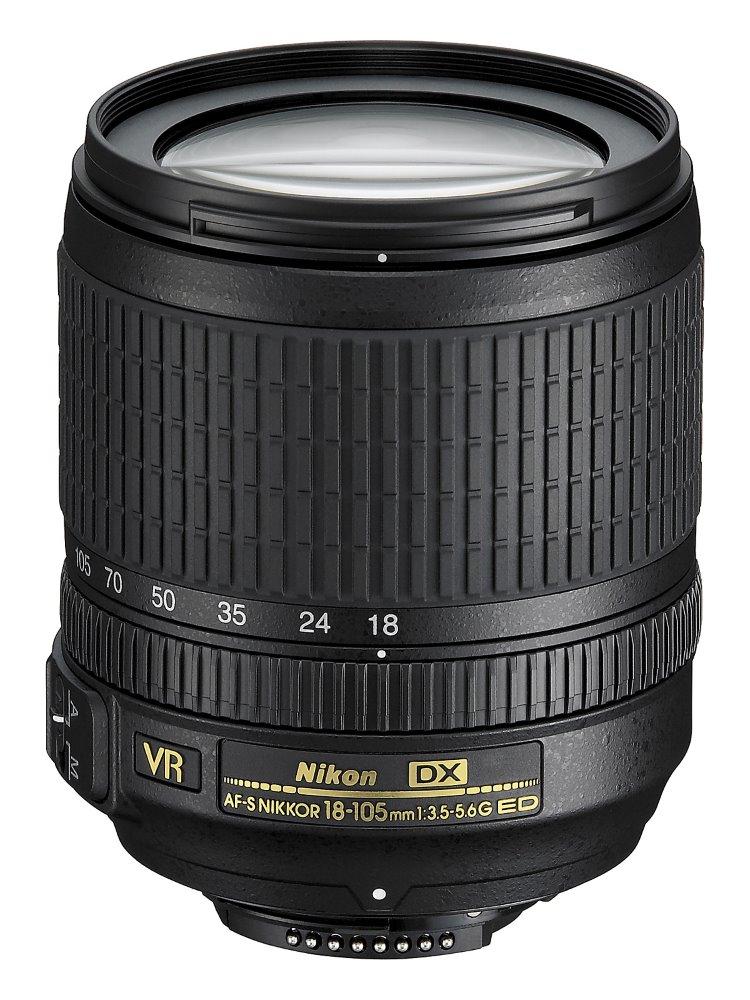 Objektiv Nikon AF-S NIKKOR 18-105 mm f/3,5-5,6 VR Objektiv, AF-S, 18 - 105 mm, f/3,5-5,6G, DX, VR, ED JAA805DA
