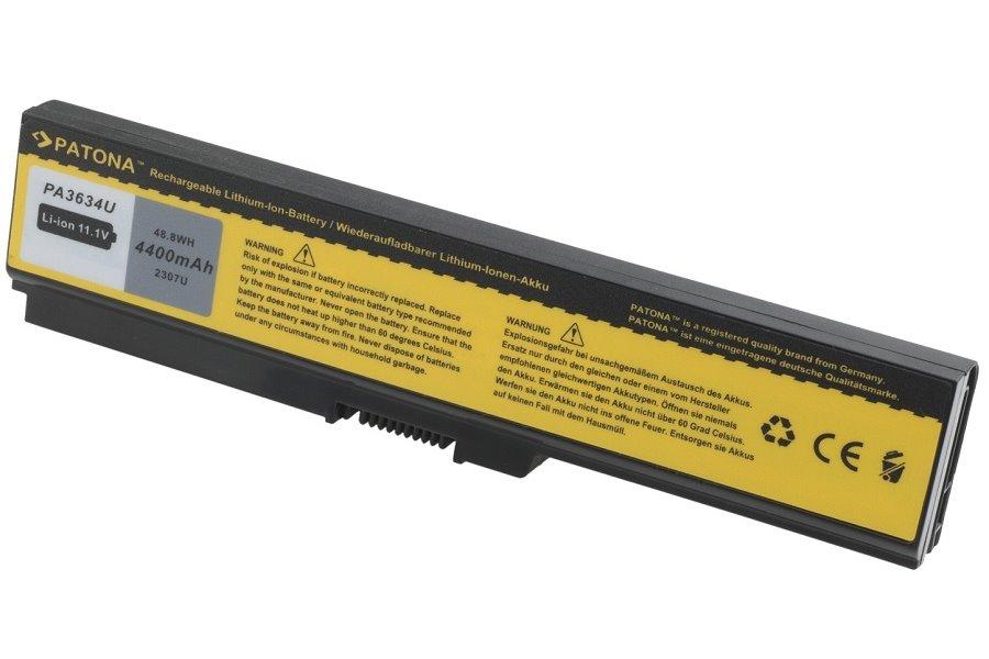 Baterie PATONA pro TOSHIBA 4400 mAh Baterie, 4400 mAh, pro notebooky TOSHIBA Satellite, Dynabook, Equim, Portege, neoriginální PT2307