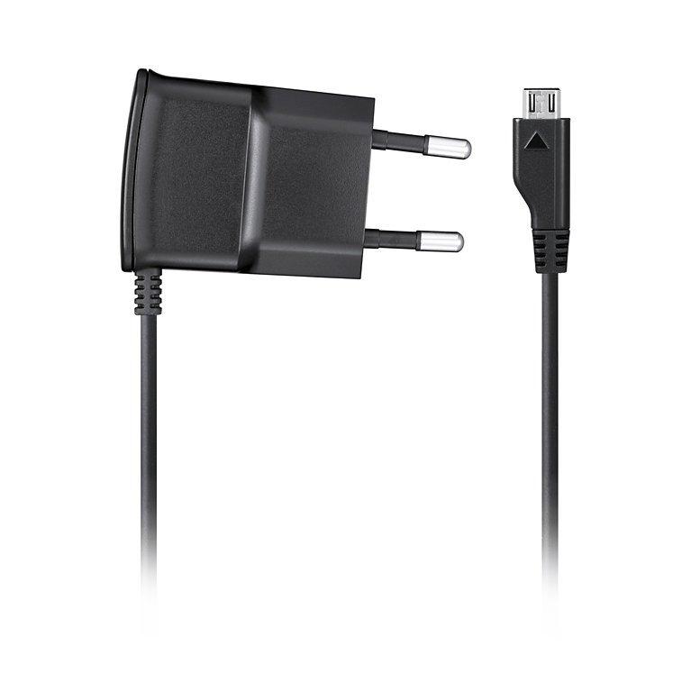 Napájecí adaptér Samsung ETA0U10E Napájecí adaptér, kompaktní, cestovní, micro USB, černá