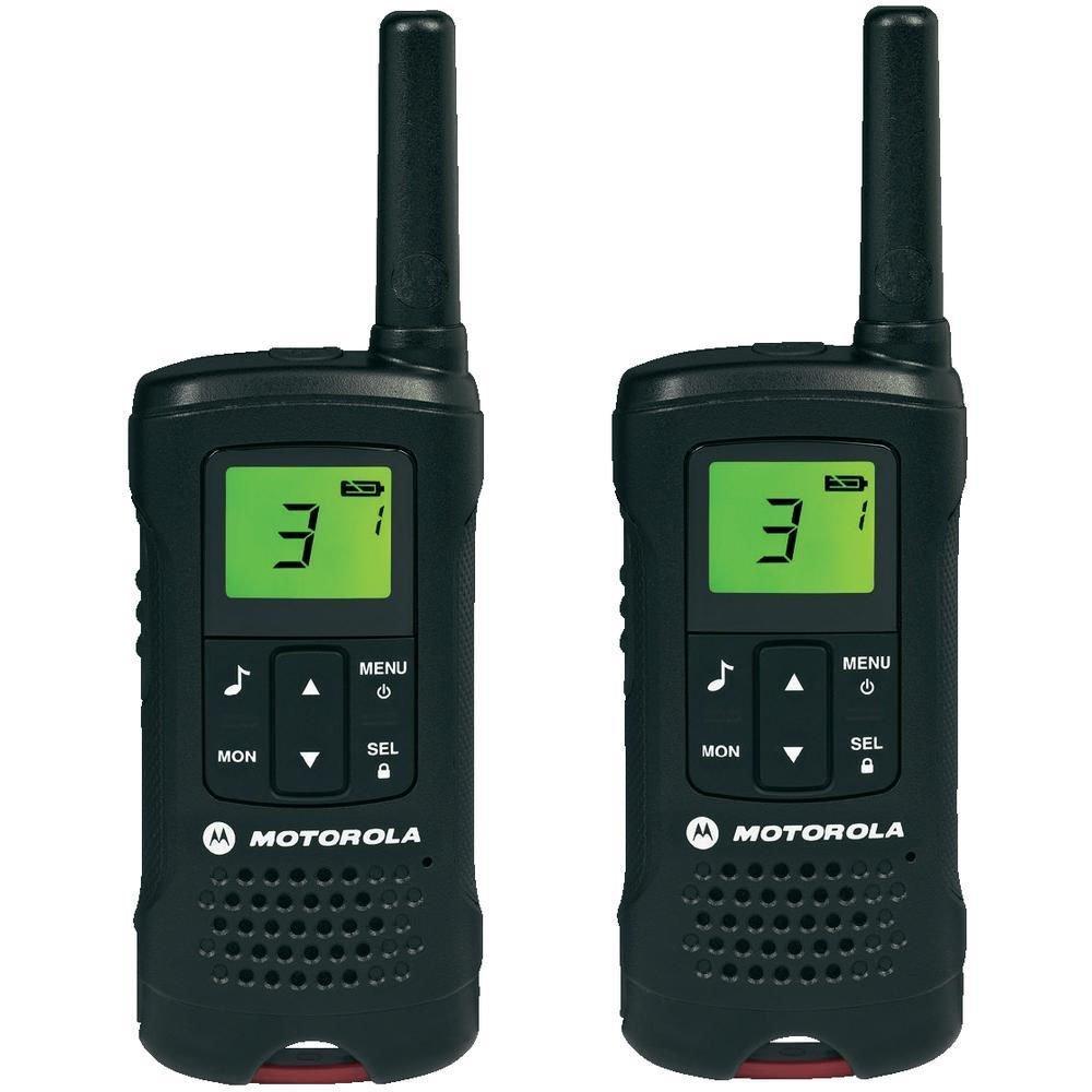 Vysílačka Motorola TLKR T60 Vysílačka, až 8km, 8 radiových kanálů + 121 kódů, funkce monitorování místnosti