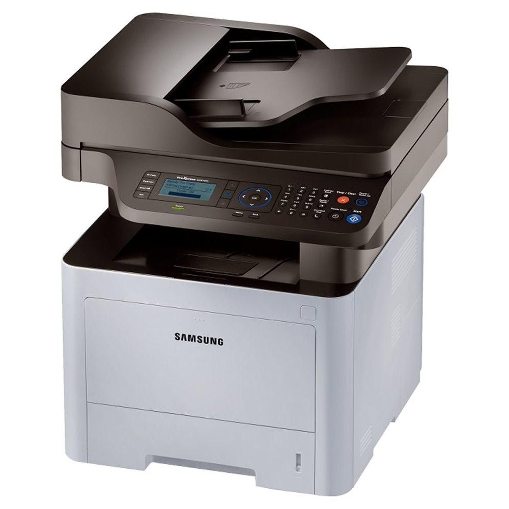 Multifunkční tiskárna SAMSUNG SL-M3870FW Černobílá multifunkční laserová tiskárna, A4, 38ppm, 1200x1200dpi, LCD, scan+copy+print+fax, Wi-Fi, USB, Síť, Šedá SL-M3870FW/SEE