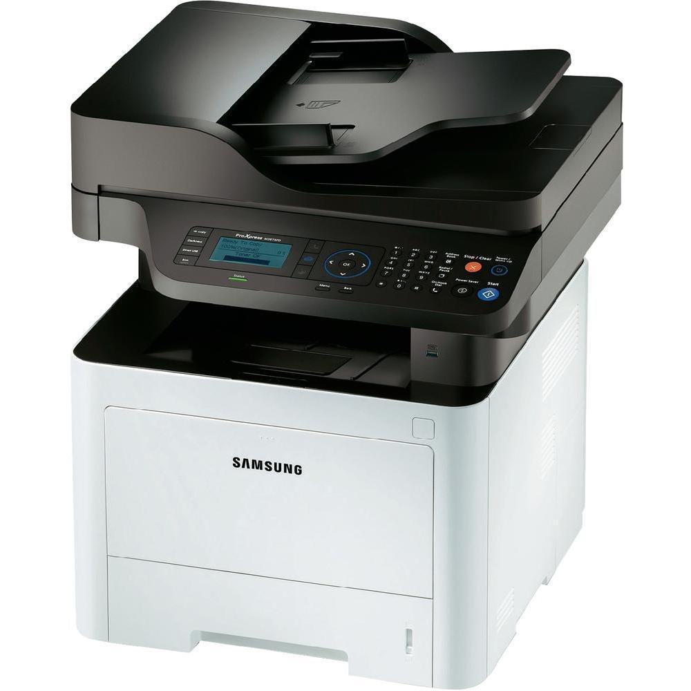 Multifunkční tiskárna SAMSUNG SL-M3875FD Černobílá multifunkční laserová tiskárna, A4, 38ppm, 1200x1200dpi, LCD, copy+scan+print+fax, Duplex, USB, Síť, Bílá SL-M3875FD/SEE