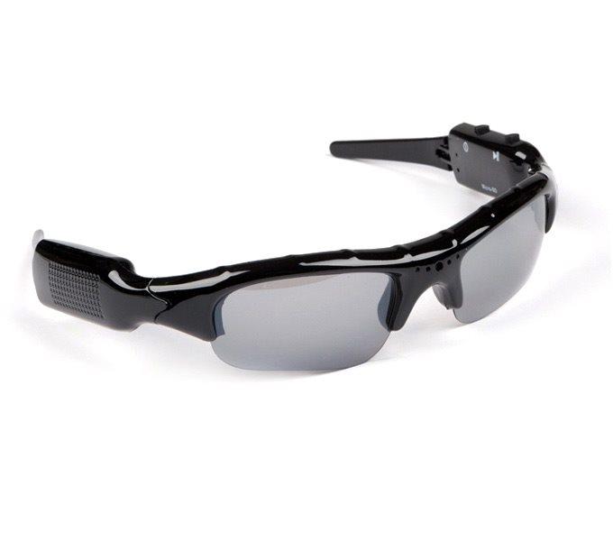 Sluneční brýle s DVR kamerou Sluneční brýle s mikrokamerou a slotem na SD karty, rozlišení 720p - POŠKOZENÝ OBAL ZBRE234V