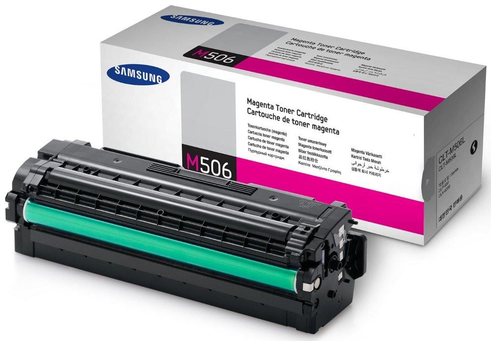 Toner Samsung CLT-M506L červený Toner, pro Samsung CLP-680, CLX-6260, 3500 stran, červený CLT-M506L/ELS
