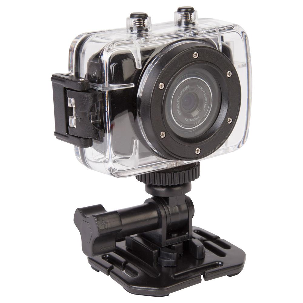 Kamera Rollei Actioncam Youngstar Kamera, outdoor, 5 MPix, HD video, černá + Podvodní pouzdro ZDARMA 40235