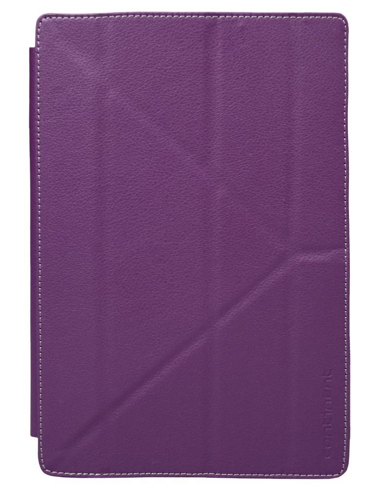 Pouzdro Continent UTS-101VT Pouzdro, univerzální, pro tablety 9,7, fialové, uchycení nálepka UTS-101VT