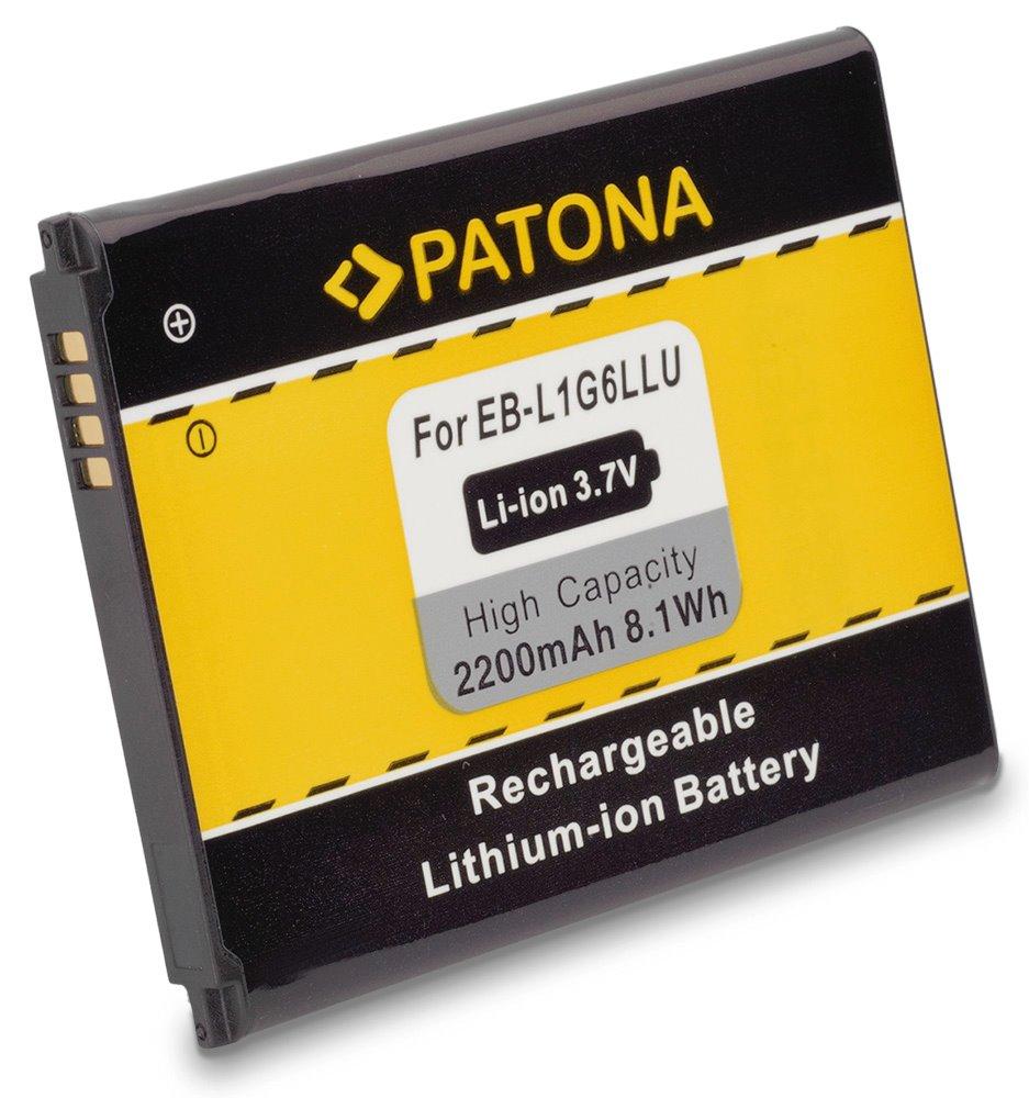 Baterie PATONA kompatibilní s Samsung EB-L1G6LLU Baterie, pro mobilní telefon, EB-L1G6LLU, EBL1G6LLU, 2200mAh, 3.7V, Li-Ion, Samsung I9308, i939, i9300, Galaxy S3, GT-i9300 Galaxy S3, GT-i9305 Galaxy PT3001