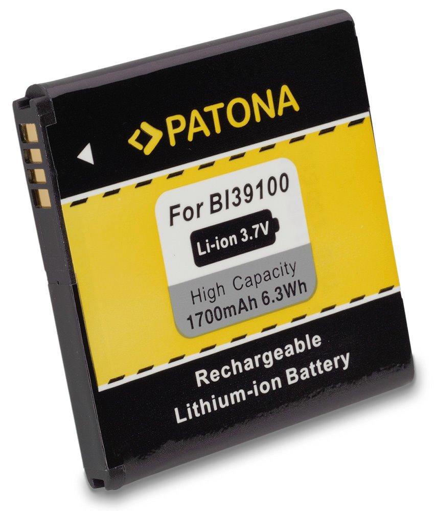 Baterie PATONA kompatibilní s HTC BA-S640 1700mAh Baterie, pro mobilní telefon, 35H00170-01M, BI39100, CS-HTX310SL, G21, HTC BA-S640, HTC BAS640, 1700mAh, 3.7V, Li-Ion, X315e, HTC Bass, HTC Bliss, HTC PT3010