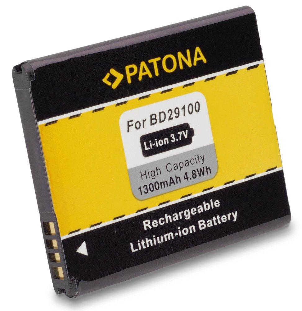 Baterie PATONA kompatibilní s HTC BA-S460 1300mAh Baterie, pro mobilní telefon, 35H00143-01M, 35H00154-xxM, BA-S460, BAS460, BD29100, S540, 1300mAh, 3.7V, Li-Ion, HTC A310e, A320e, A510c, A510e, HTC A PT3012