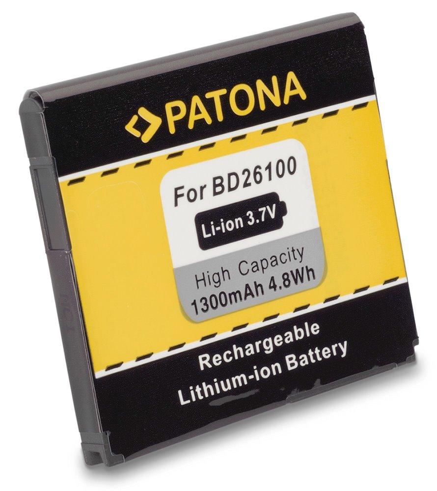Baterie PATONA kompatibilní s HTC BA-S470 1300mAh Baterie, pro mobilní telefon, BA-S470, BAS470, BD26100, 35H00141-02M, 35H00141-03M, 1300mAh, 3.7V, Li-Ion, HTC A9191, Inspire 4G, T8788, Desire HD, HT PT3013