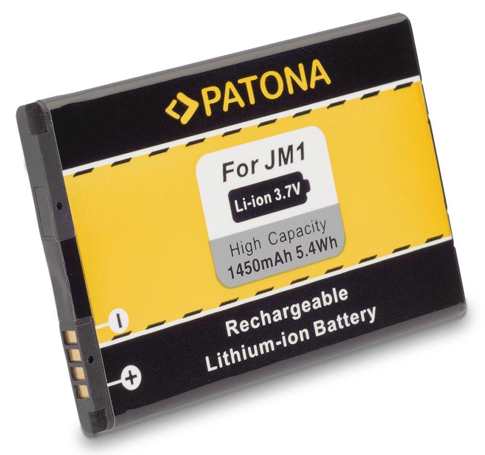 Baterie PATONA kompatibilní s Blackberry JM-1, JM1 Baterie, pro mobilní telefon, JM-1, JM1, 1450mAh, 3.7V, Li-Ion, Blackberry 3014, 9380, 9790, 9850, 9930Bold Touch, Bold 9900, Torch 9860, Touch 9860 PT3014