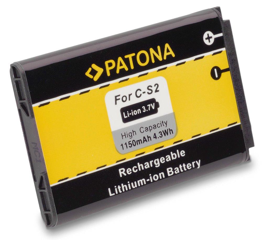 Baterie PATONA kompatibilní s Blackberry MS1, M-S1 Baterie, pro mobilní telefon, C-S2, 1150mAh, 3.7V, Li-Ion, Blackberry 8330, 7100g, 7100i, 7100r, 7100v, 7100x, 7130g, 7130v, 8700f, 8700g, 8700r, PT3016