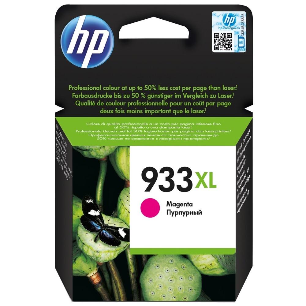 Inkoustová náplň HP 933XL (CN055AE) červená Inkoustová náplň, originální, pro HP OfficeJet 7510, 7612, 6100, 6700 Premium, 7110, 7610, 6600, XL, červená