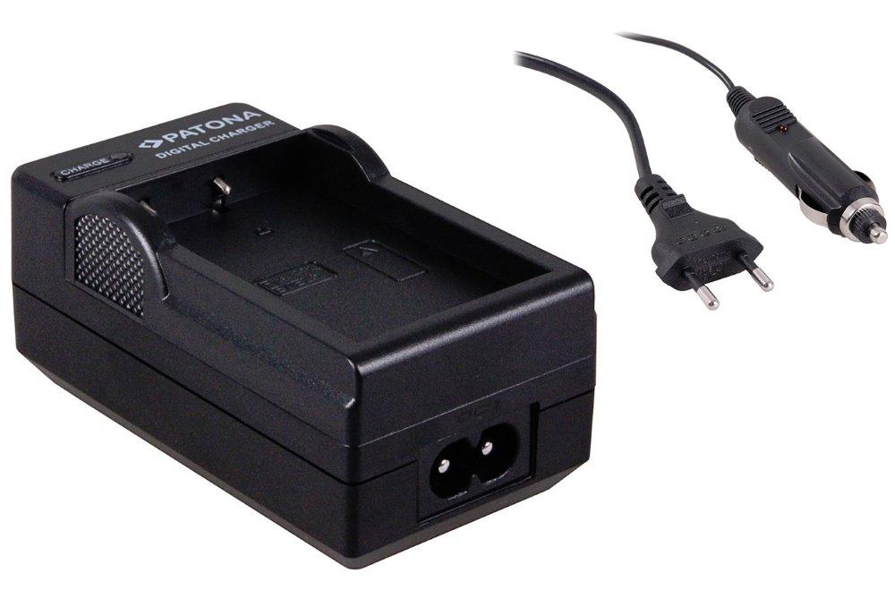 Nabíječka PATONA kompatibilní s Nikon EN-EL9 Nabíječka, pro fotoaparát, Nikon EN-EL9, 230V, 12V PT1540