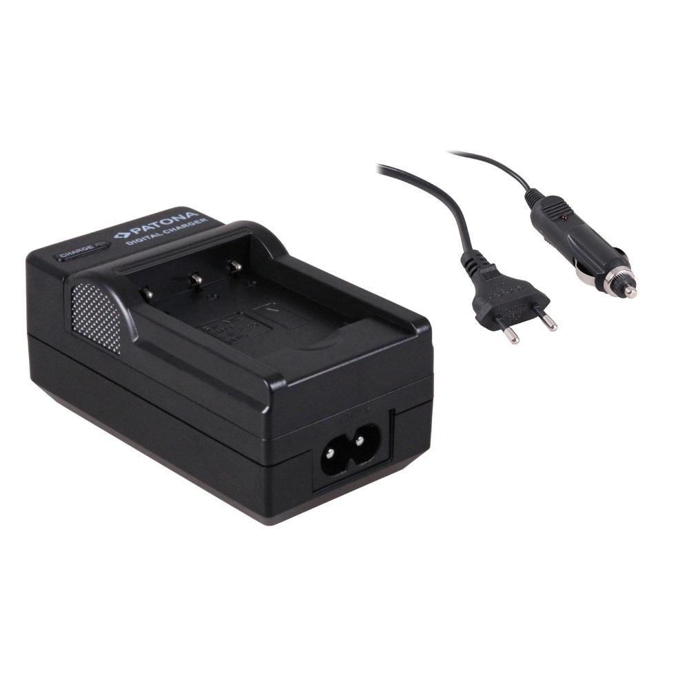 Nabíječka PATONA kompatibilní s Casio NP-120 Nabíječka, pro fotoaparát, Casio NP-120, Nikon E, 230V, 12V PT1620