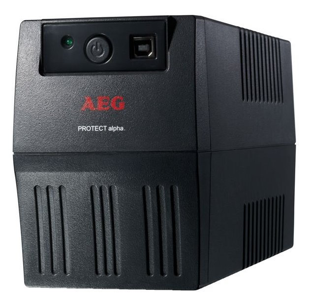 Záložní zdroj UPS AEG Protect Alpha 450 Záložní zdroj UPS, 450 VA, 240 W, USB 6000014746