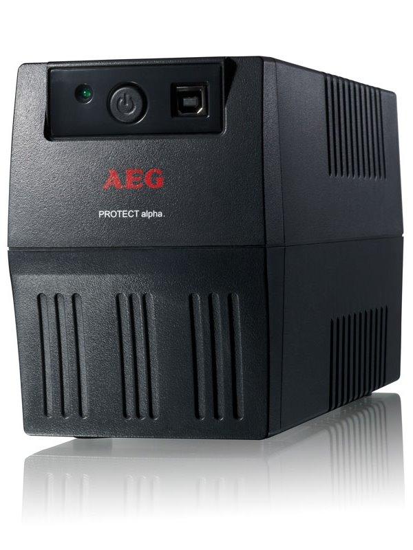 Záložní zdroj UPS AEG Protect Alpha 800 Záložní zdroj UPS, 800 VA, 480 W, USB 6000014748
