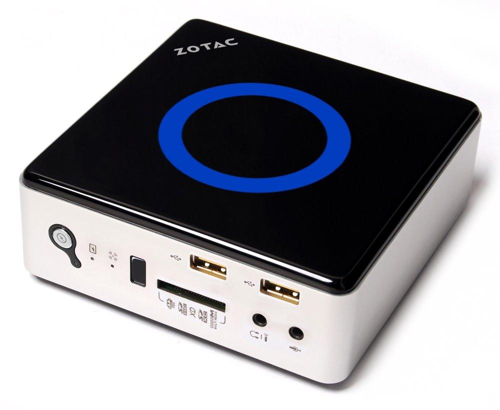 Barebone ZOTAC ZBOX NANO ID63-BE Barebone, Intel HM77, DDR3 support, HDMI, DP, BT, bez OS ZBOXNANO-ID63-BE