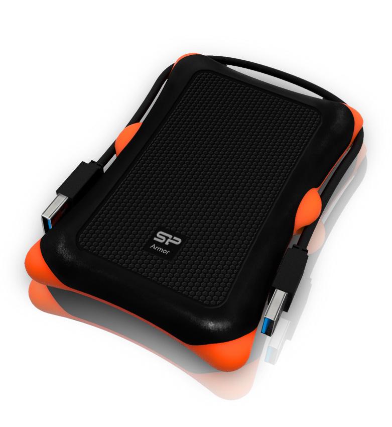 Pevný disk SILICON POWER 500 GB Pevný disk, externí, Armor A30, USB 3.0, vysoce odolný, černý SP500GBPHDA30S3K