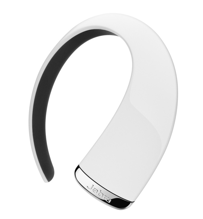 Handsfree JABRA STONE3 bílé Handsfree, bezdrátový, Bluetooth 3.0, HD Voice, dva mikrofony, DSP s automatickou regulací hlasitosti, bílý 100-99320001-60