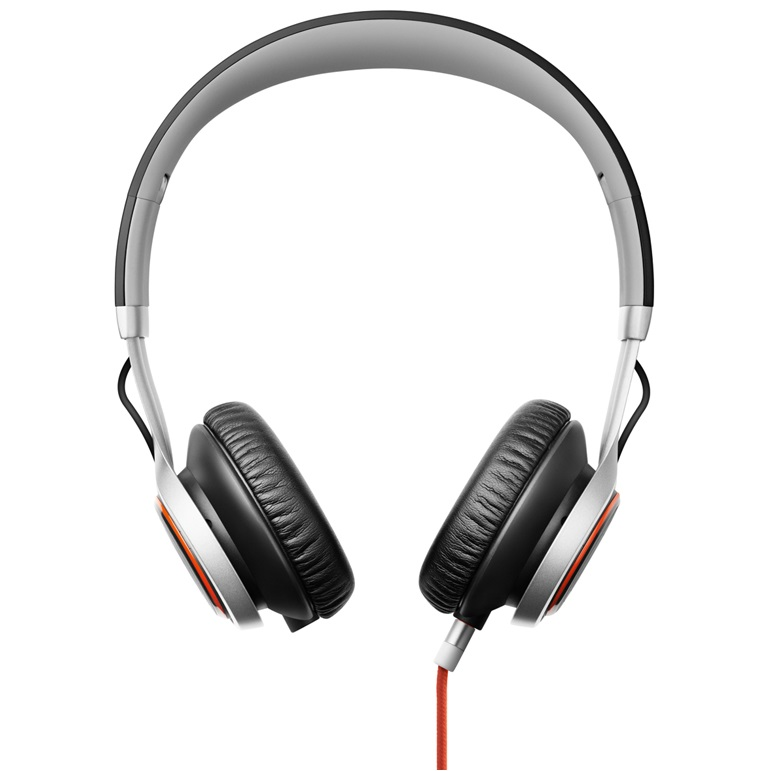 Headset JABRA REVO šedý Headset, drátový, DSP s automatickou regulací hlasitosti, dva mikrofony, stream, šedý 100-55700003-60