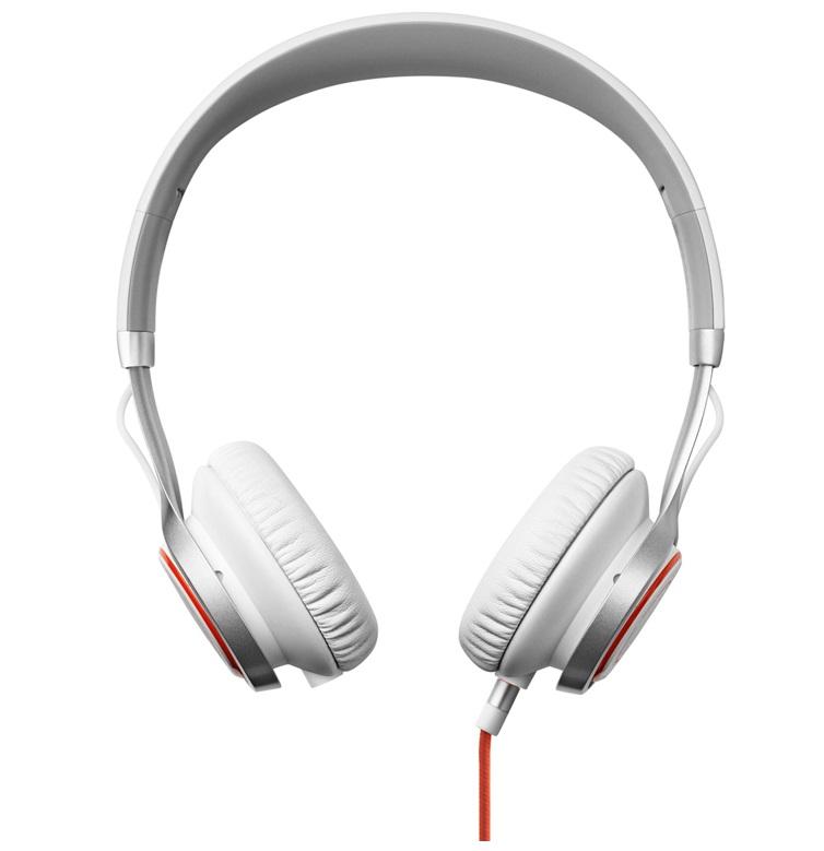Headset JABRA REVO bílý Headset, drátový, DSP s automatickou regulací hlasitosti, dva mikrofony, stream, bílý 100-55700004-60