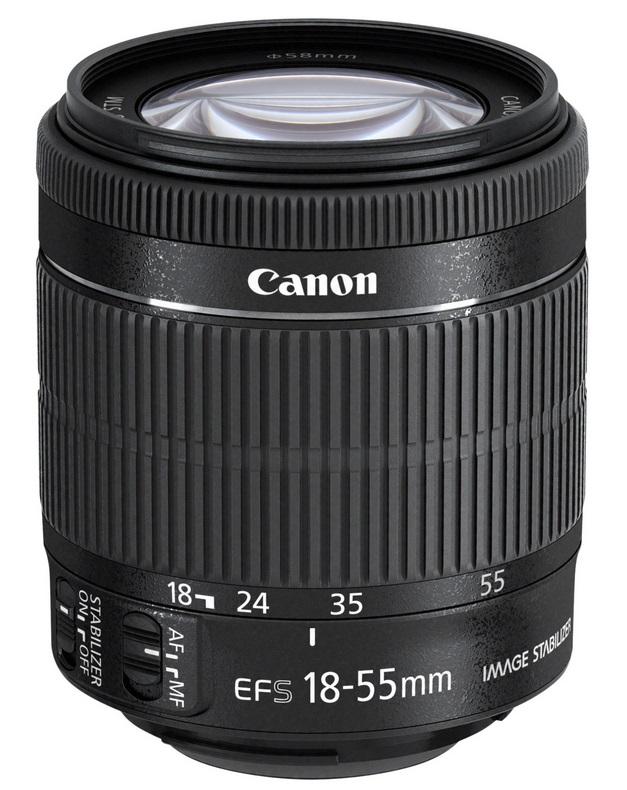 Objektiv Canon EF-S 18 - 55 mm f/3,5-5,6 IS STM Objektiv, EF-S, 18 - 55 mm, f/3,5-5,6, IS, STM 8114B005