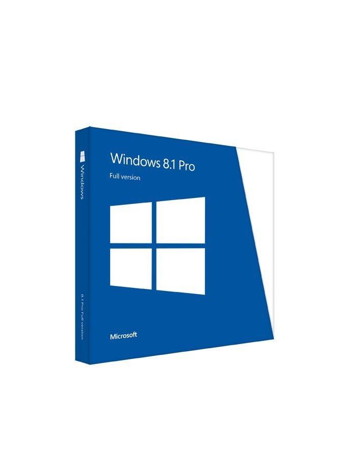 Operační systém MS Windows 8.1 Professional Operační systém, 64-bit, anglický FQC-06949
