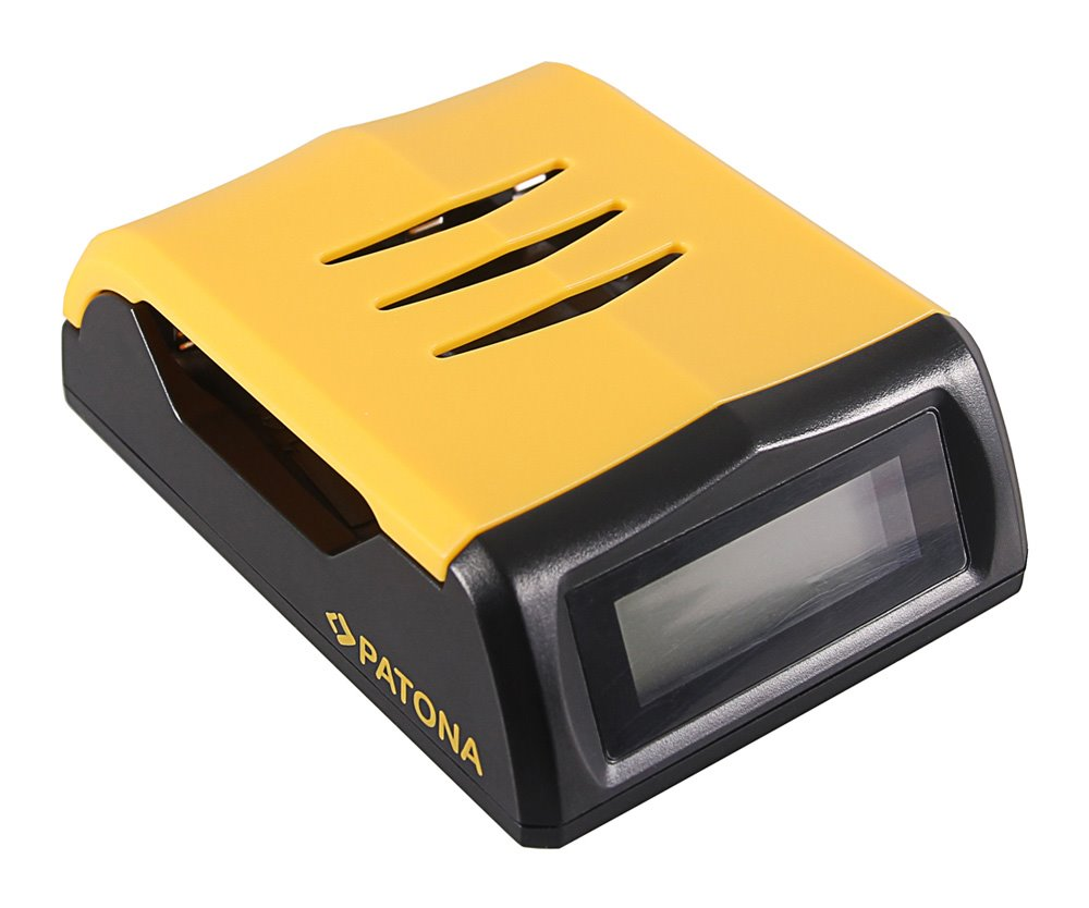 Nabíječka PATONA HighSpeed s LCD AA/AAA Nabíječka, HighSpeed, s LCD, AA/AAA PT1992
