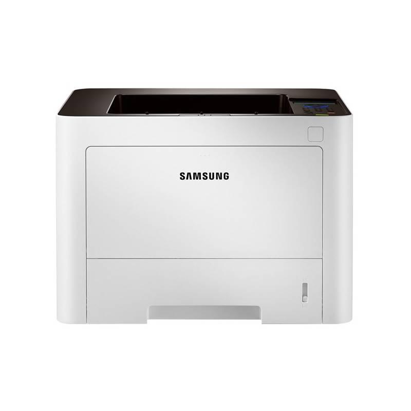 Laserová tiskárna SAMSUNG SL-M3825DW Černobílá laserová tiskárna, A4, 1200x1200, LCD, Numerická klávesnice, 128MB, Duplex, USB, Wi-Fi, Síť, Bílá SL-M3825DW/SEE