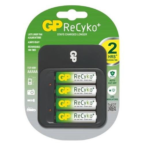 Nabíječka baterií GP PB550 Nabíječka baterií + 4AA ReCyko 1604155000