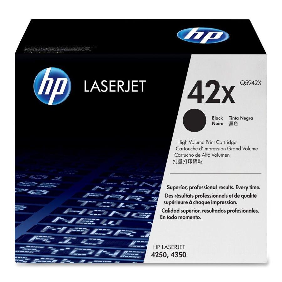 Toner HP Q5942X pro LJ 4250,4350, černý, high capacity Q5942X